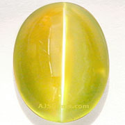 Chrysoberyl Cat's Eye 5.33 cts