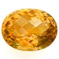 Citrine Checkerboard Cut 19.88 cts