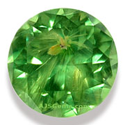 Demantoid Garnet Horsetail Inclusion
