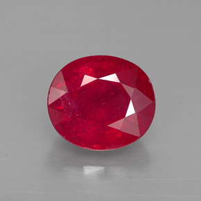 Fracture-filled Ruby 2.9 cts