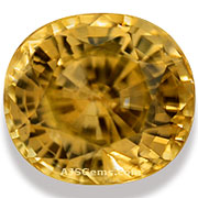 Honey Zircon Cambodia 6.79 cts
