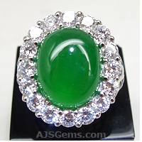 Oval Jadeite Ring