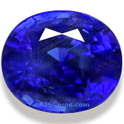 Natural Blue Sapphire Burma 5.09 cts