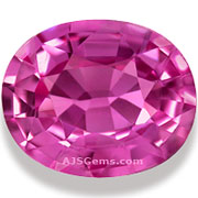 Heated Pink Sapphire Madagascar 3.12 cts