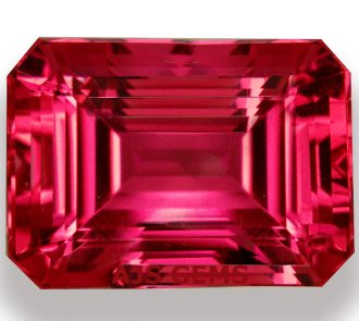 An Exceptionally Rare Red Imperial Topaz At Ajs Gems