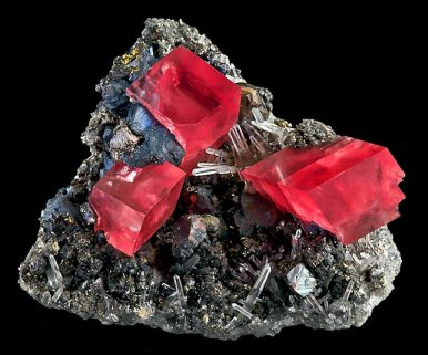 Rhodochrosite Crystals, Sweet Home Mine, Colorado