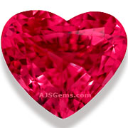 Mahenge Spinel Heart 5.91 cts