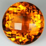 Synthetic Citrine 68cts