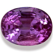 Violet Sapphire Tanzania 1.49cts