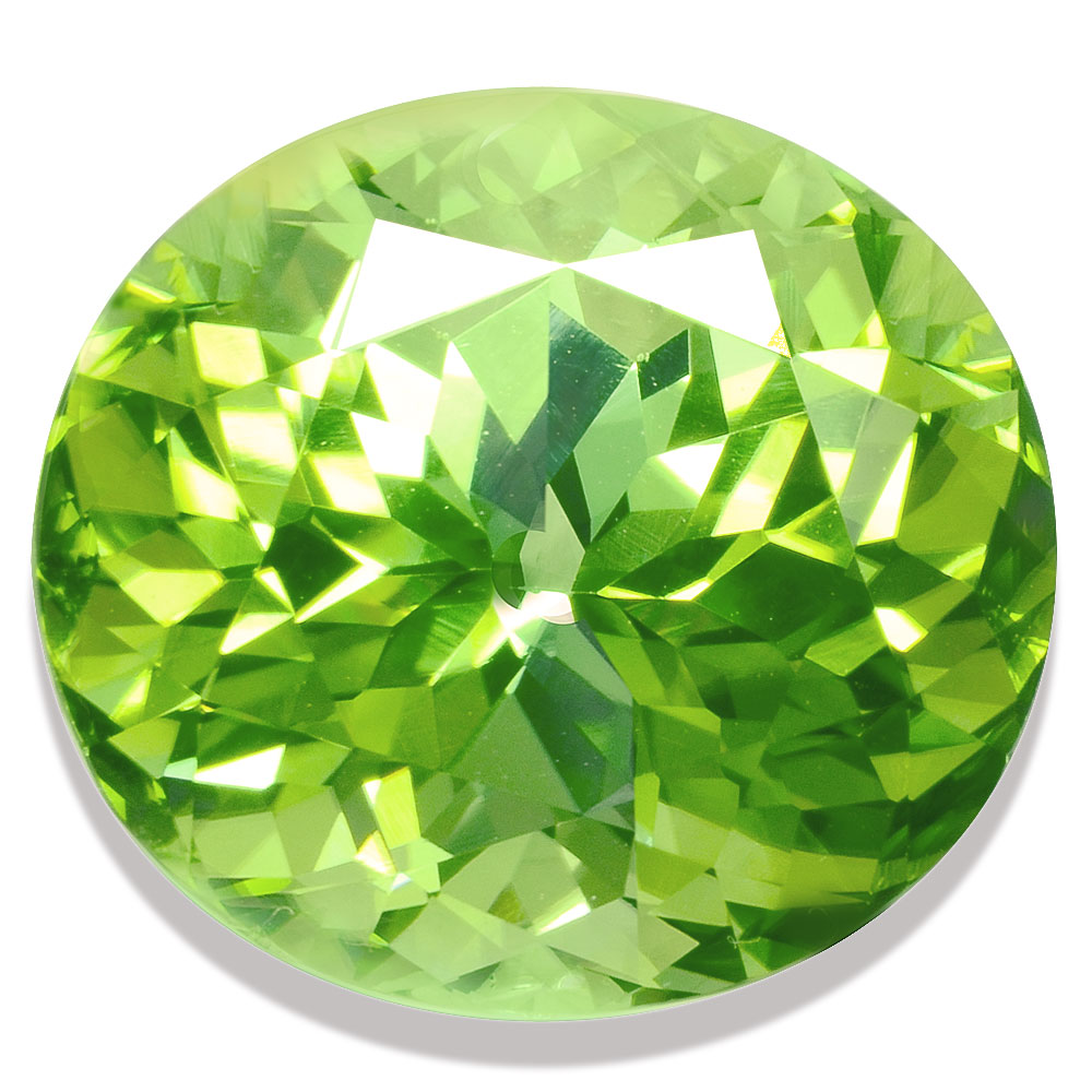 10.63 ct Green Tourmaline, Nigeria