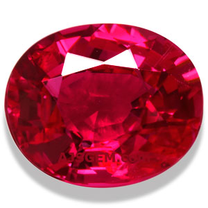 2.16 ct Unheated Mozambique Ruby
