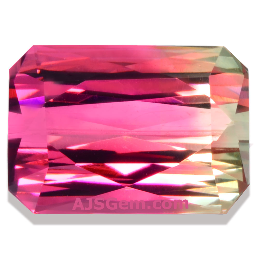 Bi-Color Tourmaline, Nigeria