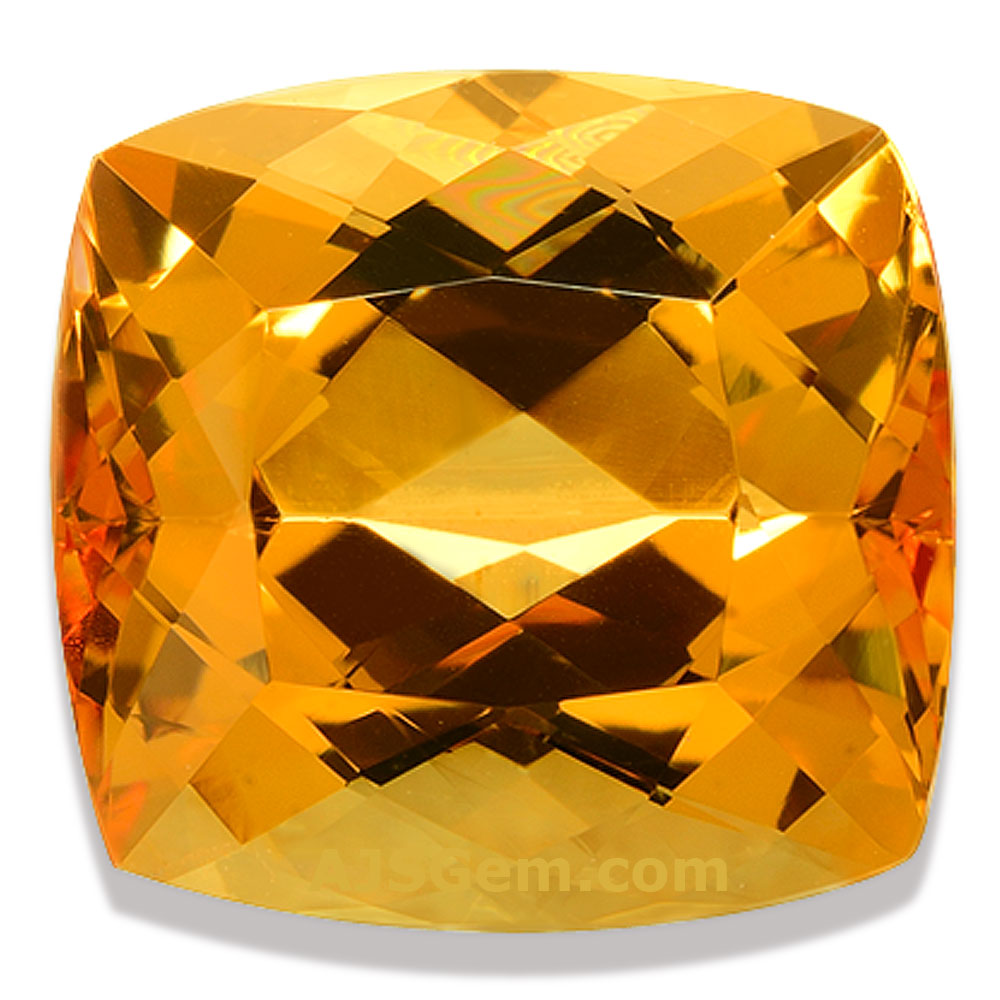 Imperial Topaz Cushion