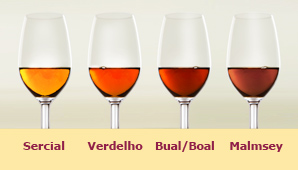 Colors of Madeira Wine
