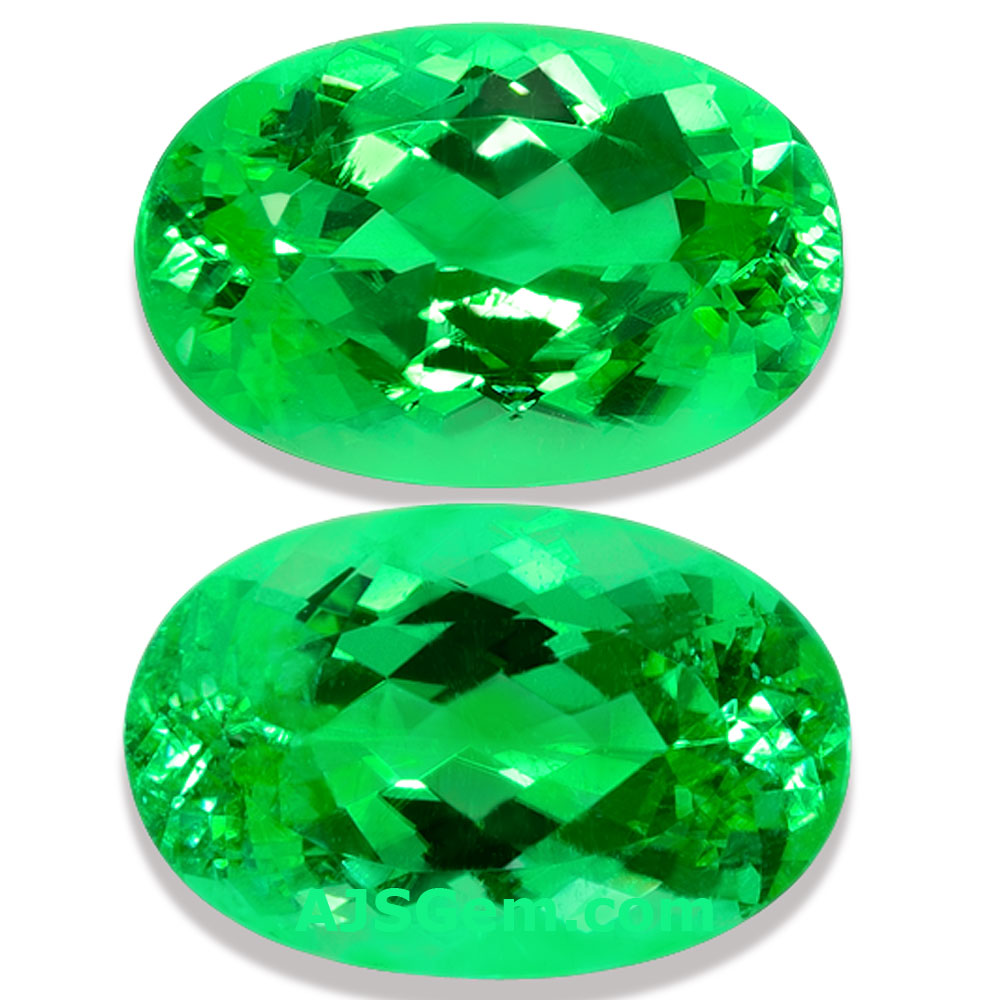 Paraiba Tourmaline Matched Pair