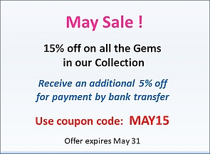 May promotion 15% off