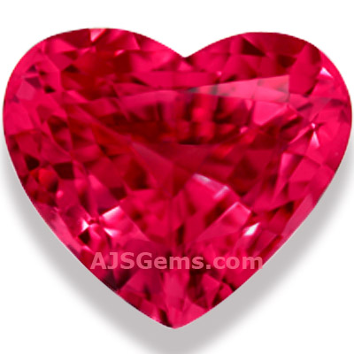 Mahenge Spinel Heart