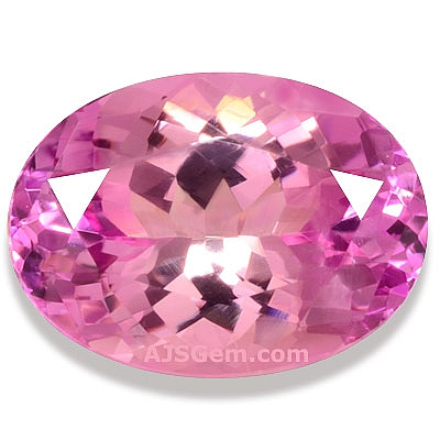 Faceted Pink Tanzanite