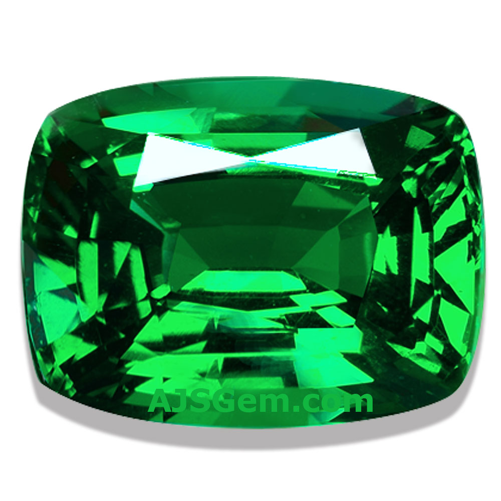 Tsavorite Garnet Cushion