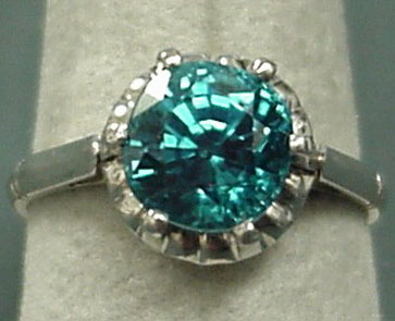 Blue Zircon Jewelry