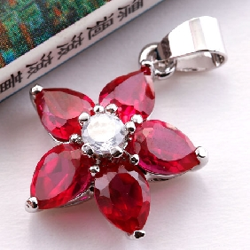 Red Zircon Jewelry